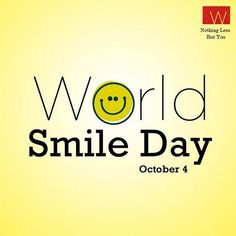 What would you do to make someone #smile today?