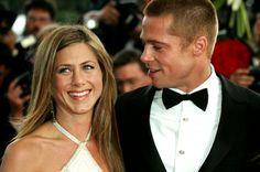 Brad Pitt et Jennifer Aniston au festival de Cannes en 2004.