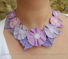 Giada Creazioni, crochet necklace