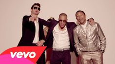 Blurred Lines by Robin Thicke ft. T.I., Pharrell (because I love Robin Thicke and Pharrell. TI? Meh...)