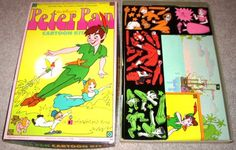 Peter Pan Colorforms--my favorite one.