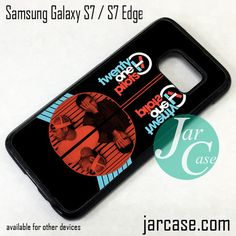 21 Pilots Band Phone Case for Samsung Galaxy S7 & S7 Edge