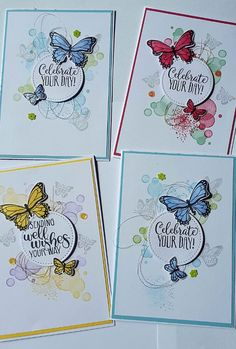 Stampin' Up! butterfly gala 2019 Stampin' Up! butterfly gala The post Stampin' Up! butterfly gala 2019 appeared first on Paper ideas. Butterfly Cards Handmade, Butterfly Birthday Cards, Greeting Cards Handmade, Tarjetas Stampin Up, Stampin Up Karten, Homemade Birthday Cards, Origami, Stampin Up Catalog, Stamping Up Cards