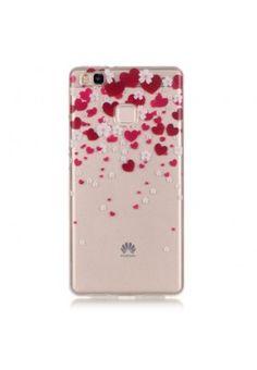 Husa Huawei P9 Lite - Gel TPU Red Hearts