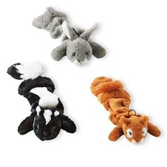 3PK WDland Anim Dog Toy -- You can find out more details at the link of the image. (This is an affiliate link and I receive a commission for the sales) #PetDogs