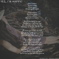 Yes, I'm Happy. #Poem #Poetry #Happy #Joy #Women #Happiness
