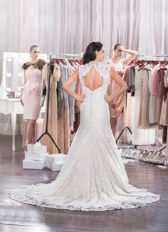 Diamond Collection Wedding dresses by Roz la Kelin 'Pheonix' #wedding #dress