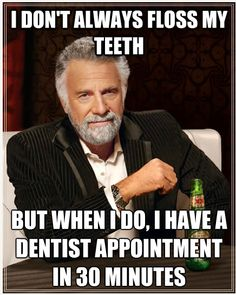 At Grand Dental Group, we suspect this happens frequently!