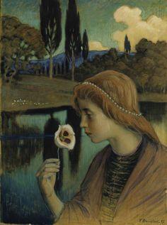 Väinö Blomstedt (Finnish 1871-1947) Francesca, 1897 http://www.waldemarsudde.se/wp-content/uploads/2015/08/blomstedt-francesca.jpg