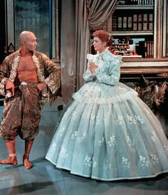 Deborah Kerr and Yul Brynner as Anna Leonowens and The King of Siam, The King and I, 1956.