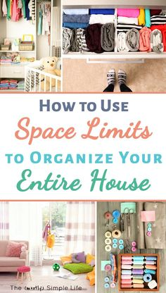 Love new organization ideas for the home! Small spaces with clutter is the worst. The organizing tips and ideas in here are great life hacks! Ideas for a bedroom, kitchen, office, kids stuff and more. #declutter #organize #organizing #clutterfree #smallspace #tinyhome #lifehack #homehack