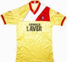 1986-88 Sheffield United Match Issue Away Shirt #5