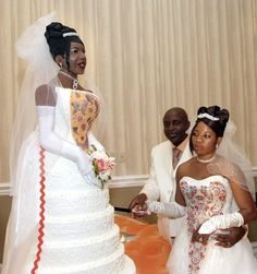 Good luck to the man who married the woman who wanted a life-size cake replica of herself.