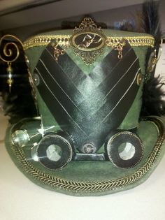 Loki inspired Steam Punk hat