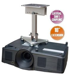 Projector Ceiling Mount for NEC NP1000 NP1150 NP1200 NP1250 NP2000 NP2150 NP2200, Silver