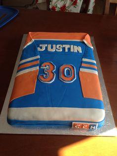 ... theme cakes rowan birthday cakes forward edmonton oiler birthday cake