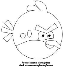 Making Learning Fun |  Angry Bird Cut and Paste  Find cut and paste activities for all nine of the Angry Birds.