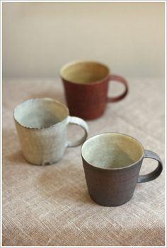 Iuchi pottery artist Click the link to visit our site Ceramic Tableware, Stoneware Mugs, Ceramic Cups, Earthenware, Ceramic Art, Rustic Ceramics, Modern Ceramics, Pottery Pots, Ceramic Pottery