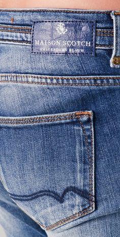 Love Maison Scotch blue jeans!