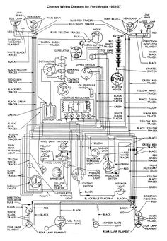121 best wiring diagram images cars, electric, beetles Auto Electrical Schematic Diagrams car wiring diagram truck repair, engine repair, car engine, motor car, ford