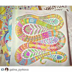 Cobra! #Repost @galina_pyrkova ・・・  Боа #milliemarotta #milliemarottatropicalwonderland  #tropicalwonderland #art #artwork #picture #acolouringbookadventure #beautiful #wonderful #boa #snake #boasnake