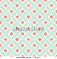 Seamless vintage pattern. Eps 10 - stock vector