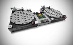 Legos Turntables....