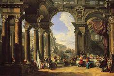 Giovanni Paolo Pannini, Le nozze di Cana - circa 1725