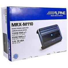 Kenwood Kac M3001 Compact 600 W Mono Digital Audio Amplifier