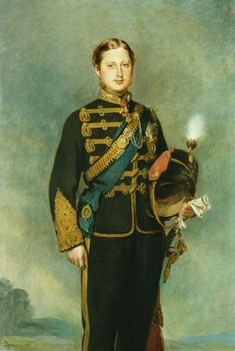 Edward VII when Prince of Wales, 1864