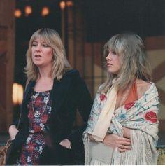 Christine McVie and Stevie Nicks 1976
