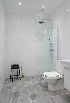 Scandinavian style apartment bathroom