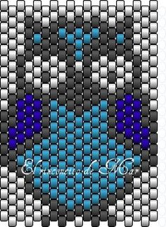 Beaded Owl PATTERN delicas