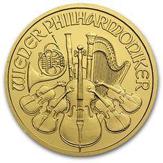 Buy Gold Online   Buy 2012 1/2 oz Austrian Gold Philharmonics   APMEX.com