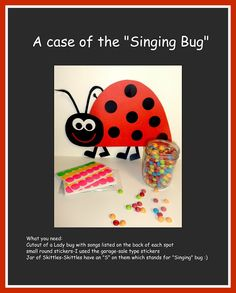 Mormon mama on a mission: Singing Bug Music Time