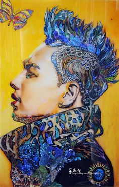 BIGBANG  TAEYANG SOL Dong YoungBae ART. Idk who made this but kudos to them this looks real nice!