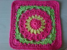 "Ravelry: Project Gallery for Drop in the Bucket 12"" Square pattern by Janie Herrin"