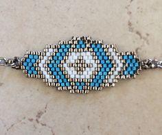 Bracelet peyote en perles MIYUKI