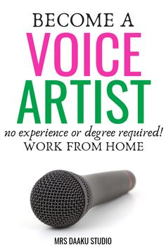 voice over jobs for beginners is possible. This post has EVERYTHING you need to know about voice over training, voice over jobs, skills, tips, what voice over equipment to use etc. So kickstart this side hustle in 2019 and earn a living - stay at home. Work From Home Jobs, Make Money From Home, Way To Make Money, Make Money Online, Marketing Program, Marketing Jobs, Job Freelance, Stress, Acting Tips