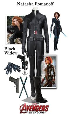 """""""Natasha Romanoff/Black Widow - Avengers: Age Of Ultron"""" by gone-girl ❤ liked on Polyvore featuring Nine West"""