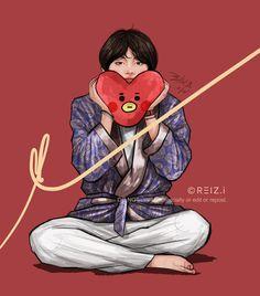 Kpop Drawings, Cartoon Drawings, Cartoon Art, Bts Anime, Bts Beautiful, Vkook, Naruto Sasuke Sakura, Pokemon, Aesthetic Drawing