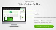 Thrive Content Builder v1.500.6 - Live Wordpress Front End Editor