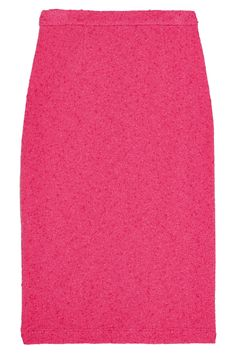 BOUTIQUE MOSCHINO Stretch-Bouclé Pencil Skirt. #boutiquemoschino #cloth #skirt