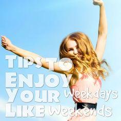 13 Ways To Make Your #Work Week Feel More Like The #Weekends #JobCluster via @jobcluster