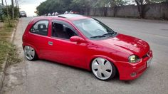 CHEVROLET CORSA GSI 1995 RODAS ARO 17 Chevy, Chevrolet Impala, Corsa Wind, Car Tuning, All Cars, Slammed, Drag Racing, Cadillac, Jdm