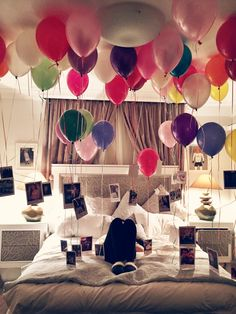 john-snooww:  Coming home to this birthday surprise!                                                                                                                                                                                 More