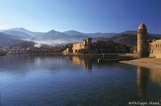 Contemplez les paysages de Collioure dans sa médiathèque virtuelle