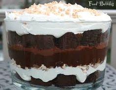 Αποτέλεσμα εικόνας για chocolate trifle