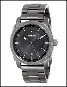 This Fossil watch will stand the test of time with it's cool grey and classic structure. What do you think? #watches
