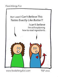 Food Allergy Fun: Milk Allergy